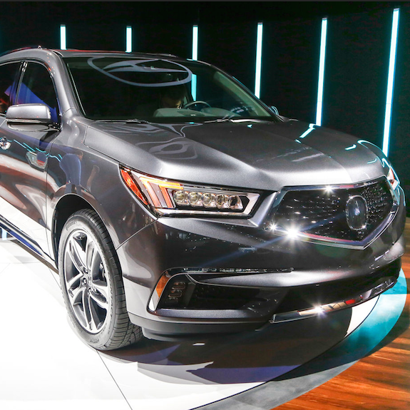 New Acura SUV To Be Manufactured In Central Ohio