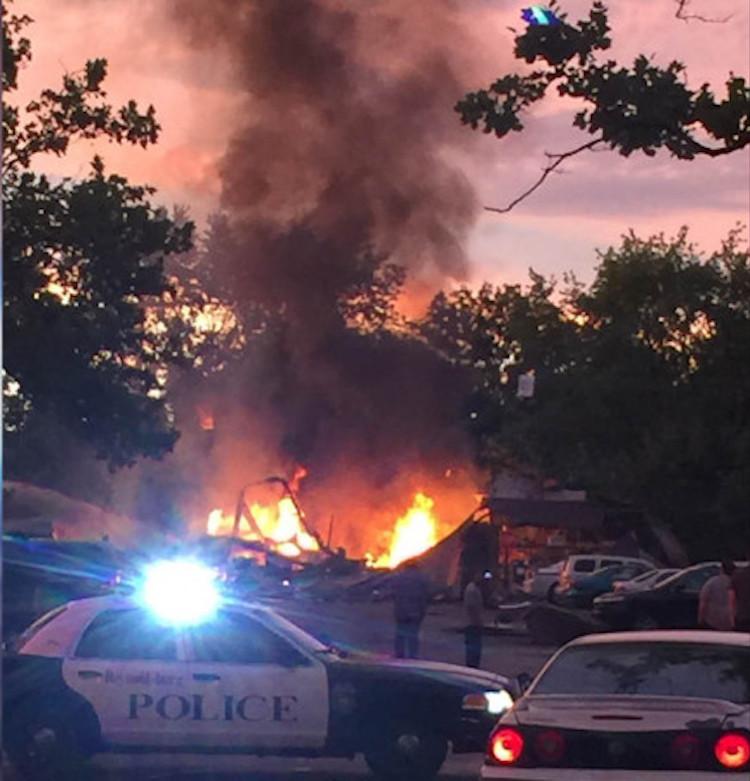 Explosions Level Reynoldsburg Apartment Complex