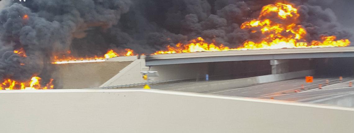 270 tanker fire