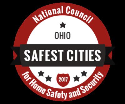 Safest Cities in Ohio Badge