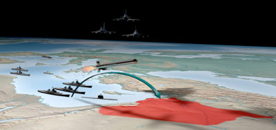 Syrian missile strike