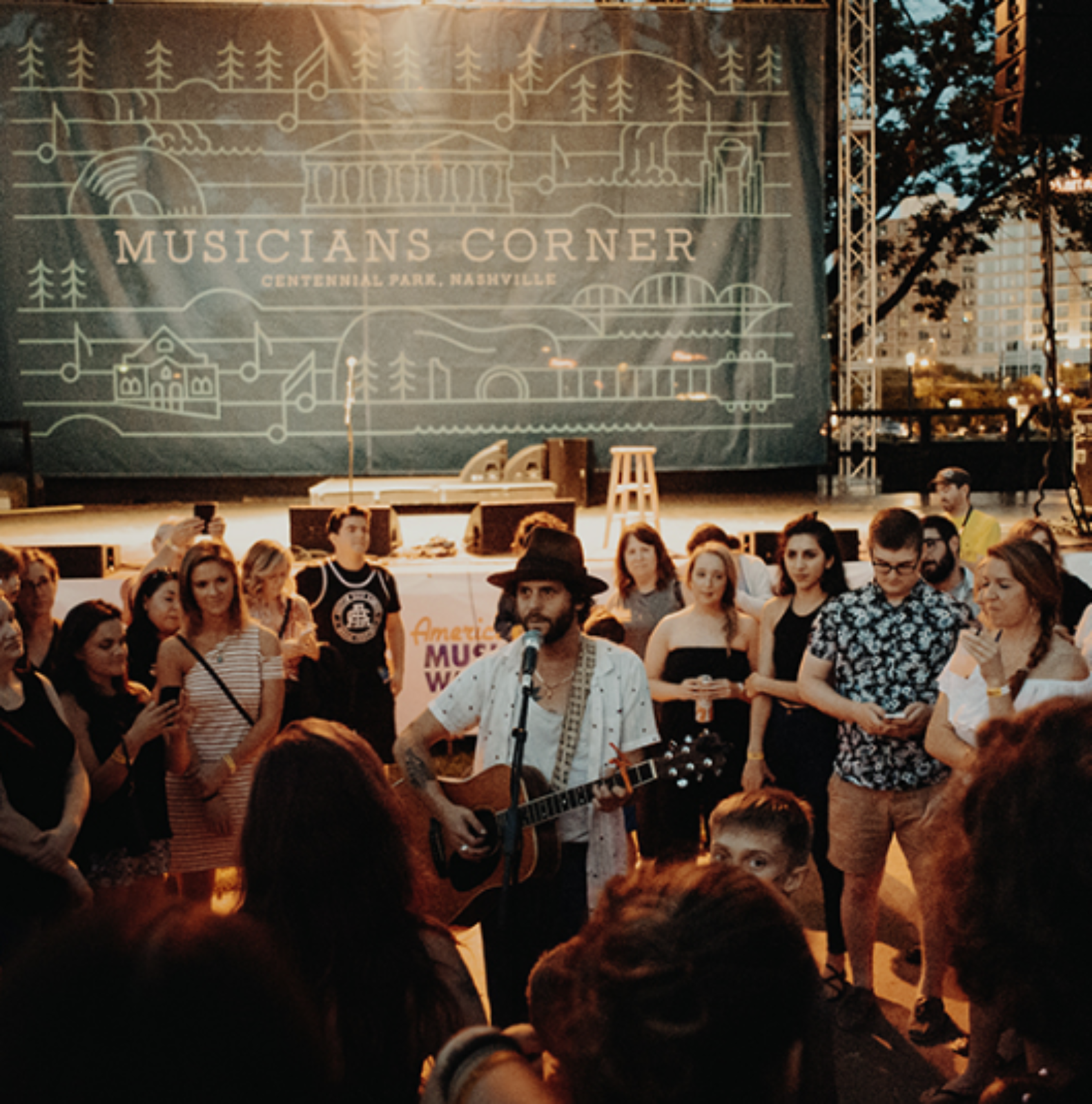 Musicians Corner at Centennial Park