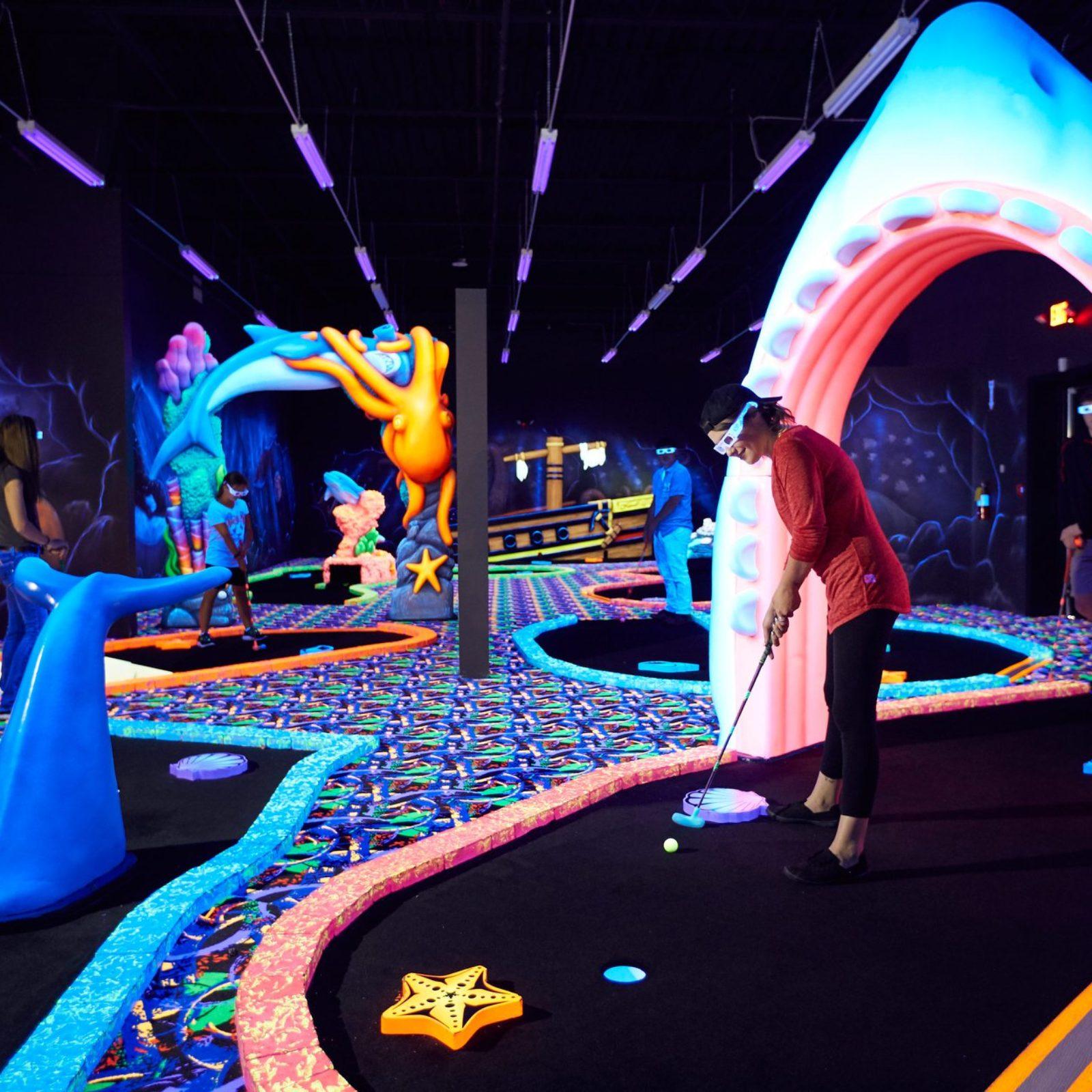 Largest Indoor Entertainment Center In