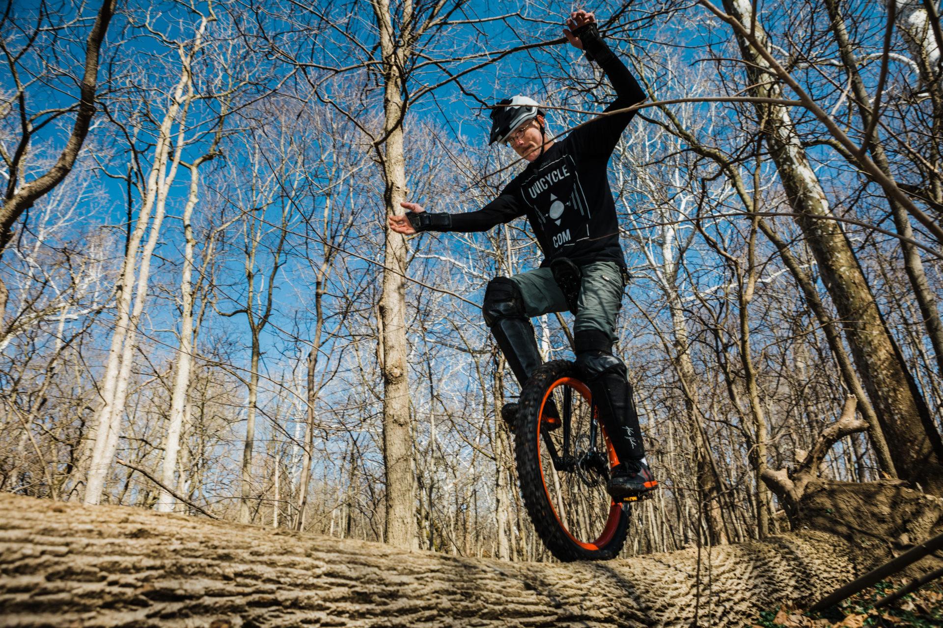 One-wheeled, 55yo Pelotonia rider grabbing life without the