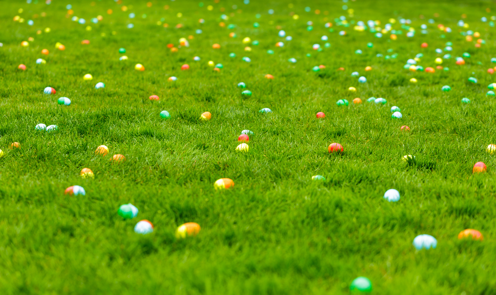 First Lady Easter Egg Hunt 2019
