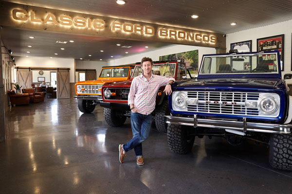Take a ride with local business Classic Ford Broncos