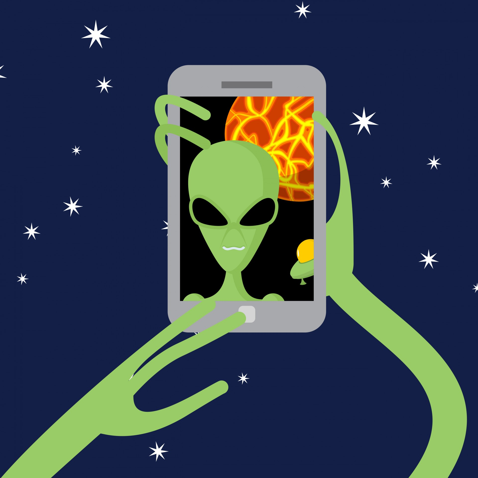 Satireday: Our interview with an intergalactic alien
