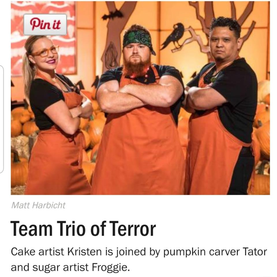 Local pumpkin carver returning to Food Network's spookiest show