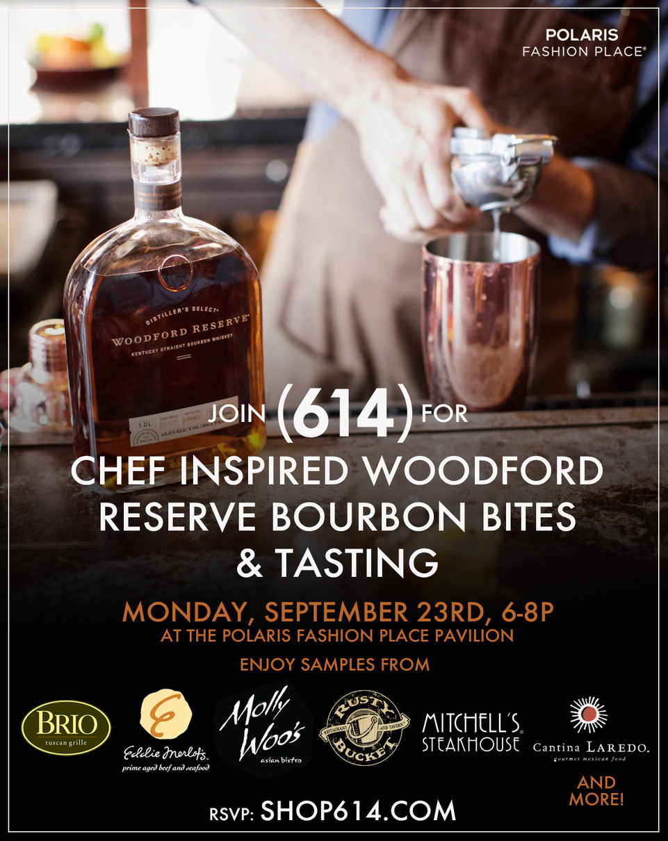 Ticket: Chef Inspired Woodford Reserve Bourbon Bites & Tasting 9/23