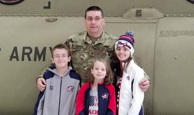 Friday Feel Good: Watch soldier surprise his family at CBJ game